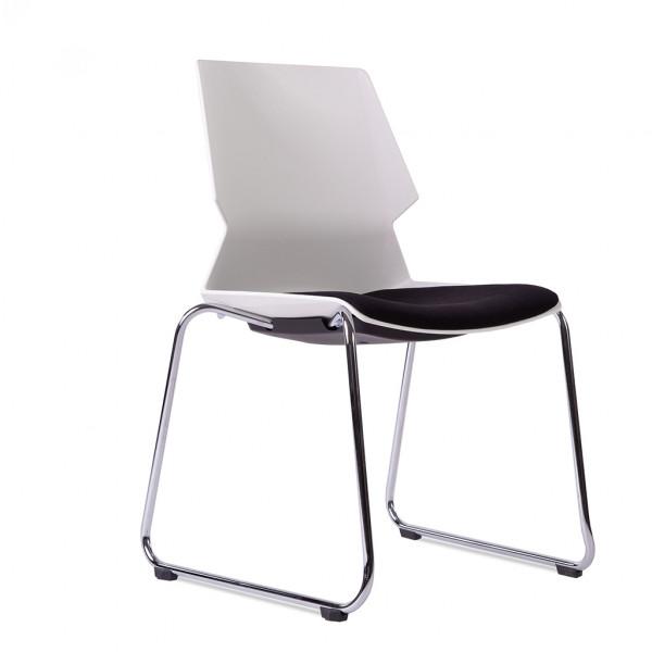 Stapelstuhl Choreo® mit Sitzpolster