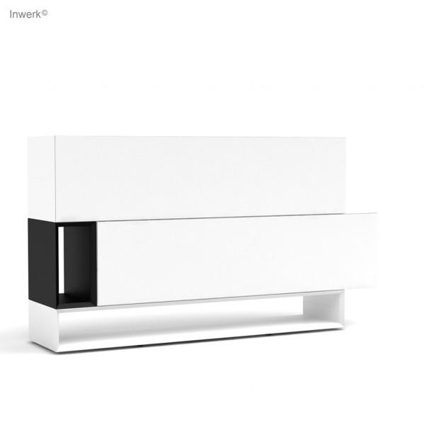 Masterbox® Sideboard 2,5 OH mit Flügeltüren asymetrisch