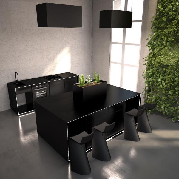 Masterbox® Kücheninsel mit 3 Loops