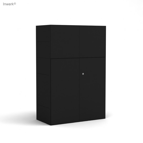 Masterbox® Highboard mit Flügeltüren abschließbar