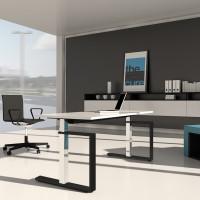 Höhenverstellbarer Schreibtisch Masterlift 3