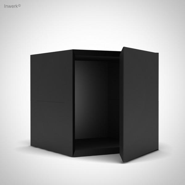 Ausstellungsstück mit leichten Gebrauchsspuren Masterbox ® Box mit Tür B 400 x H 400
