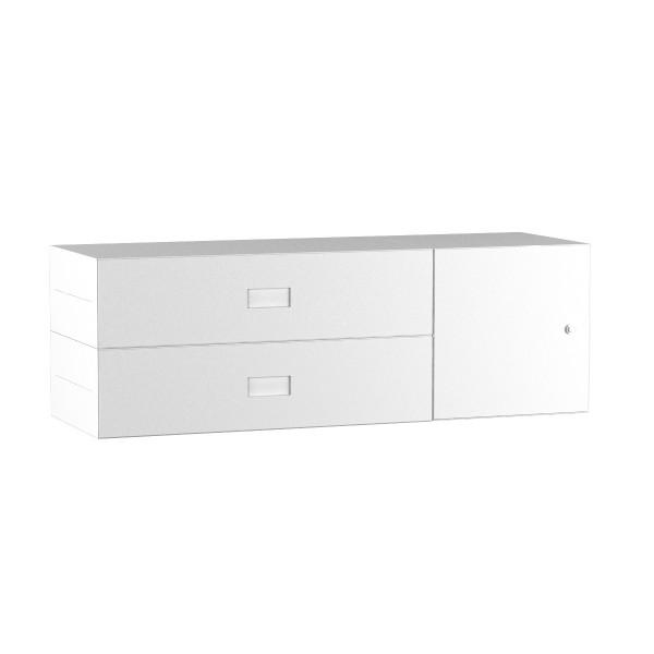 Inwerk Masterbox ® Schubladenkommode mit Tür